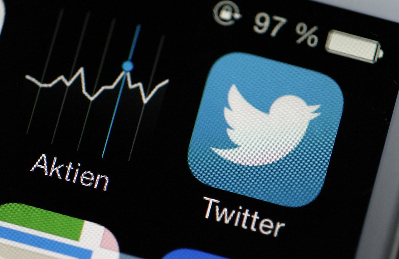 社群平台推特(Twitter)。 歐新社資料照