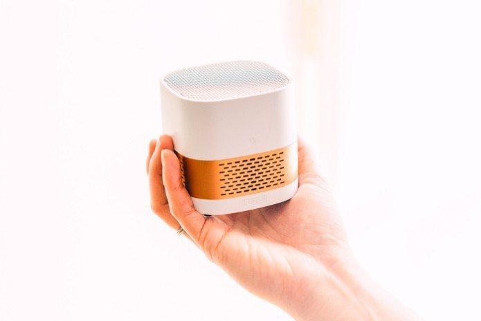 LuftQI 空氣淨化器,正式在美國募資平台上線了。 稻穗/提供。