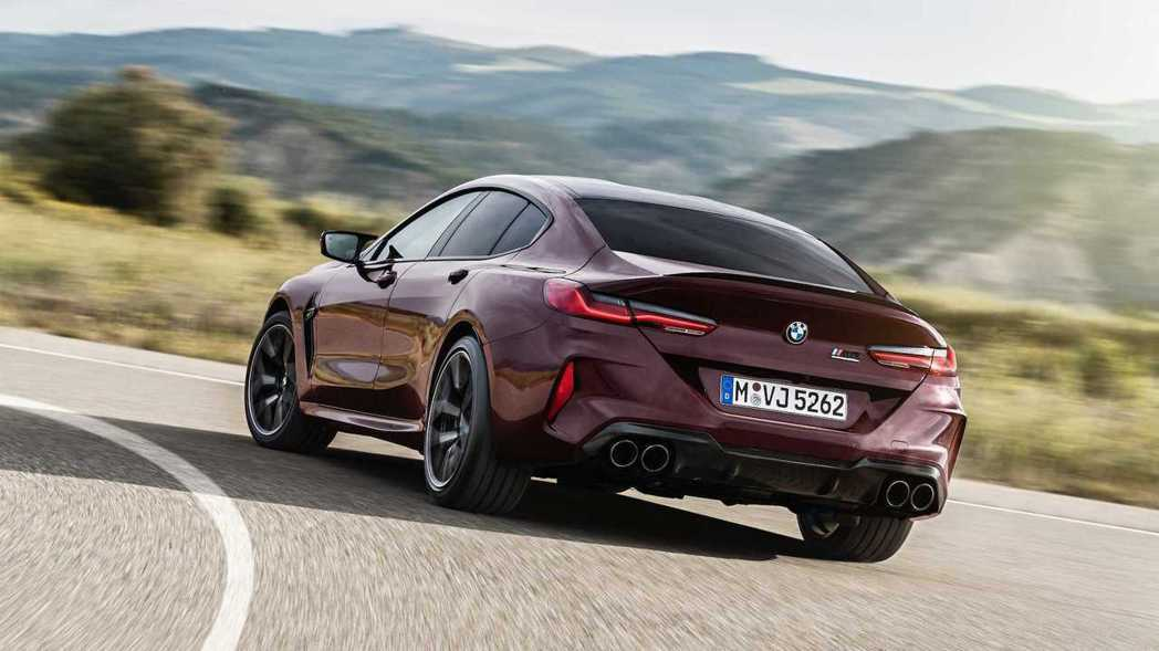 全新BMW M8 Gran Coupe (F93) 最大馬力可輸出600hp/7...