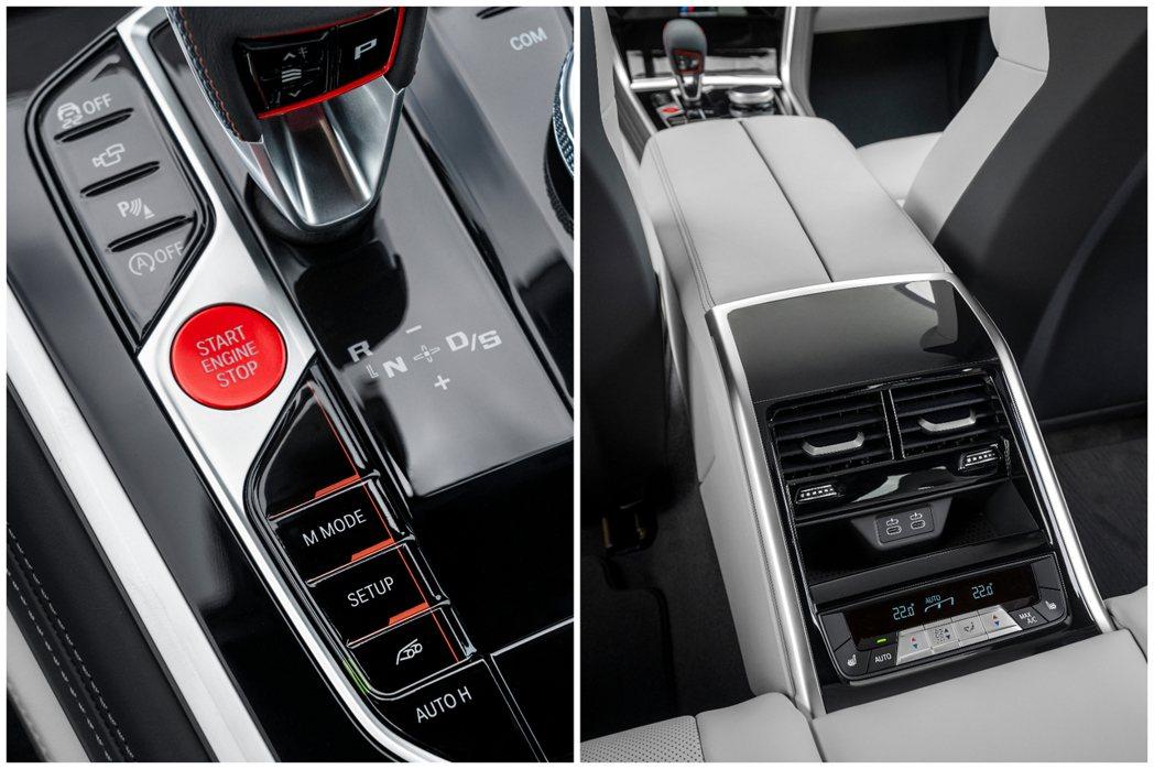 全新BMW M8 Gran Coupe (F93) 內裝。 摘自BMW