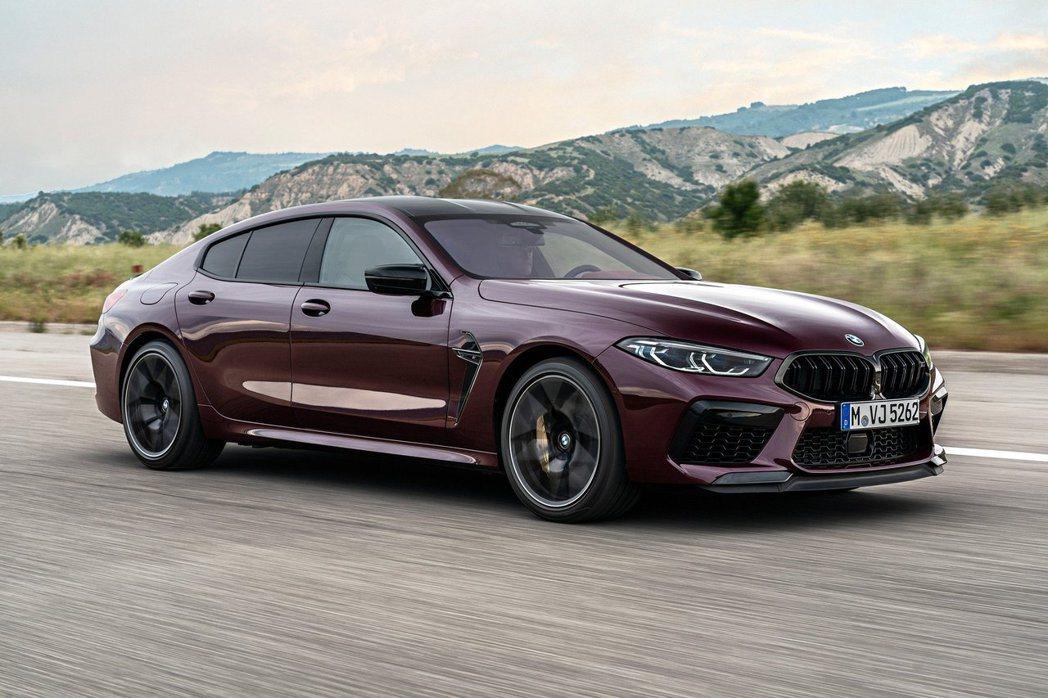 全新BMW M8 Gran Coupe (F93) 另外還有最大馬力可爆發出62...