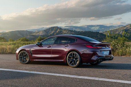 兼具力與美的猛獸 全新BMW M8 Gran Coupe無預警現身!