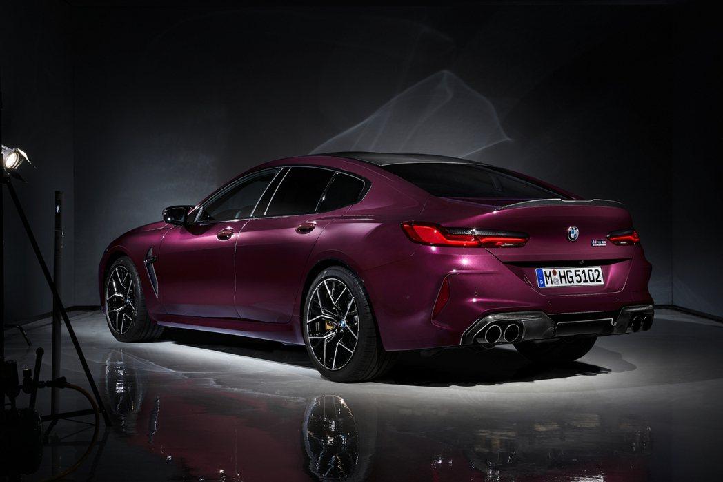 全新BMW M8 Gran Coupe在洛杉磯車展前提前亮相! 摘自BMW