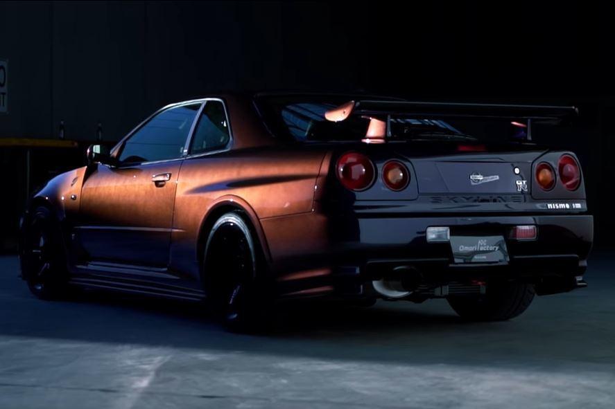 影/來認識這輛價值50萬美元的Nissan Skyline R34 GT-R Midnight Purple III Z-Tune!