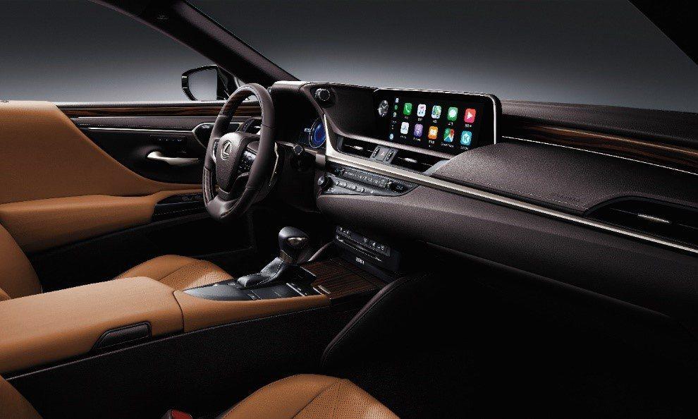 Apple CarPlay及Android Auto主力車款全面標配。 圖/和泰...