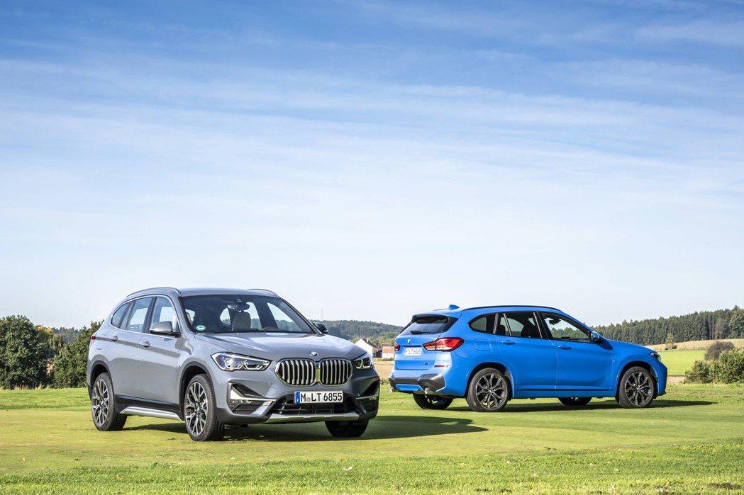 小改款BMW X1 sDrive18i最大可輸出140匹德制馬力以及220牛頓米...