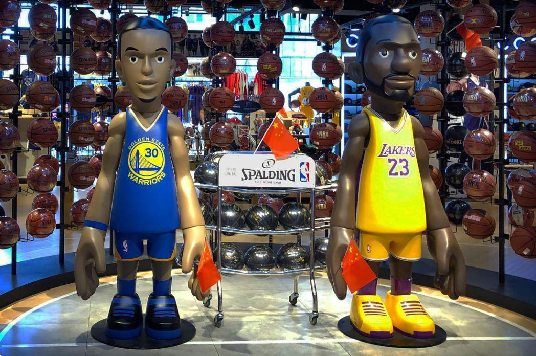 親愛的NBA,這幾個月來一定很難熬吧,你們跟中國是怎麼了? 圖/美聯社