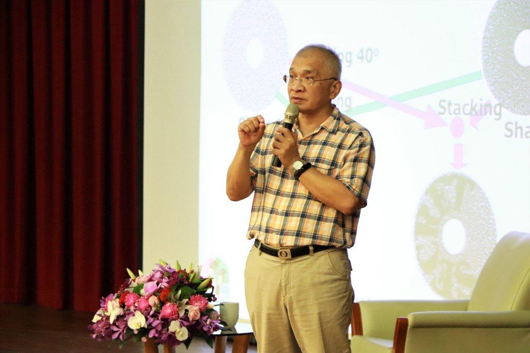 台灣密碼學之父張真誠。 金大/提供。