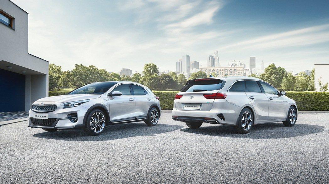 Kia XCeed PHEV與Kia Sportswagon PHEV為品牌全新...