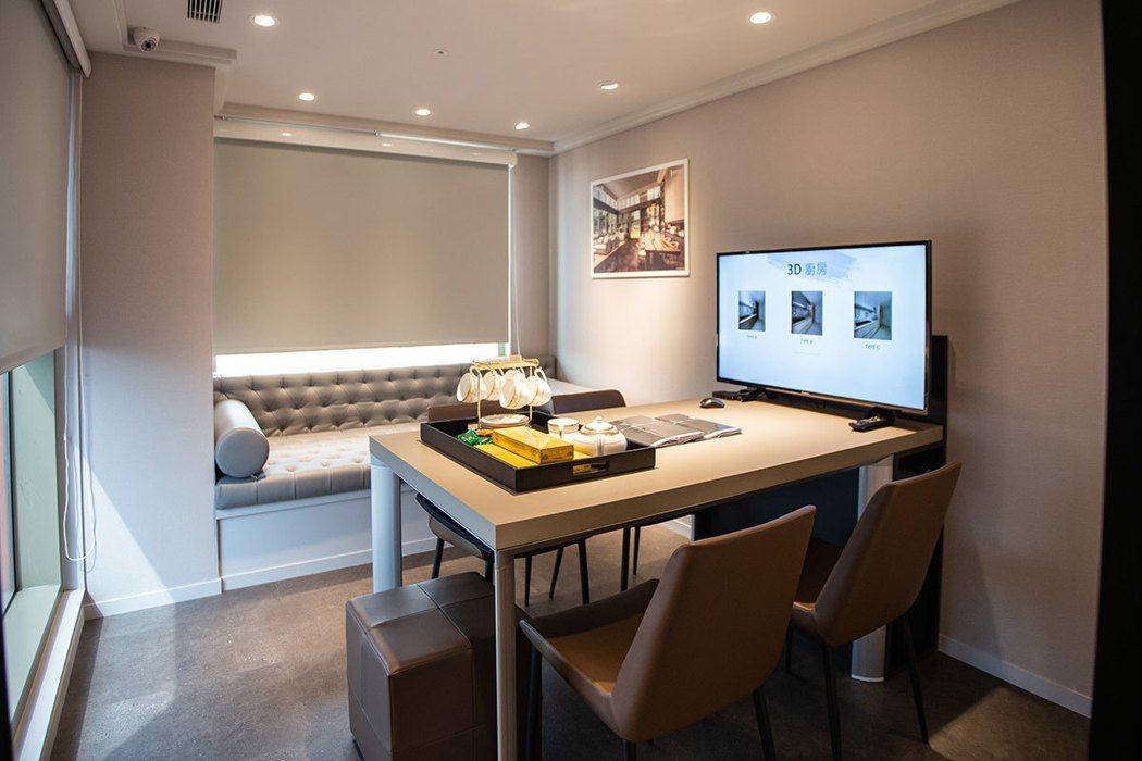 全國首創的「VIP精品客變服務」,提供購屋者室內3D建材配色模組,以及專業人員全...