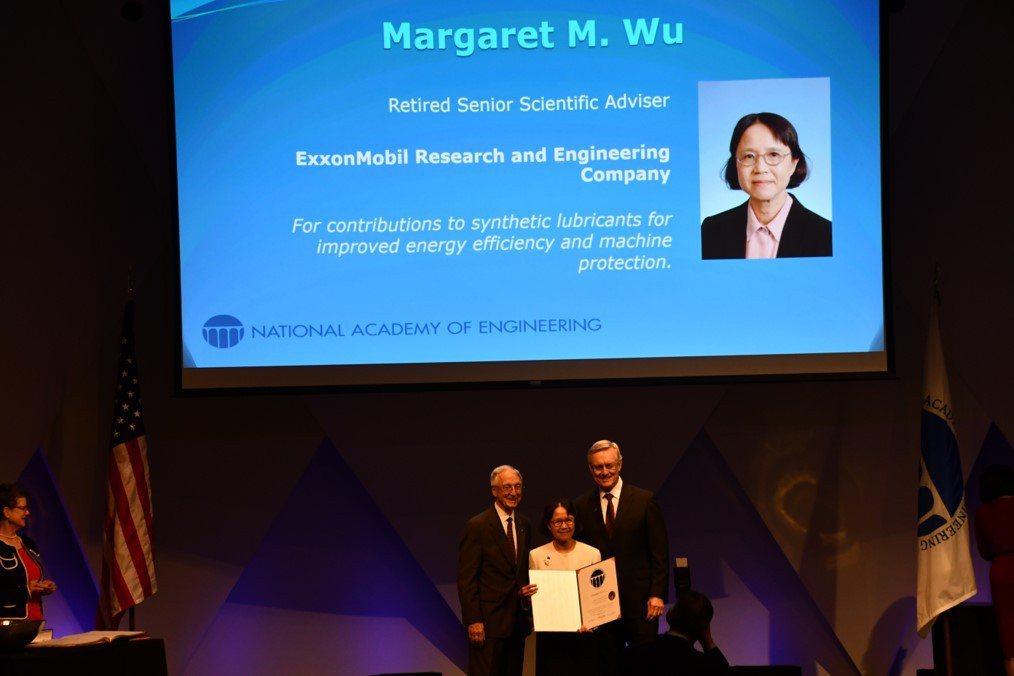 北科大校友蕭美琛正式就任美國國家工程學院(NAE)院士。    北科大/提供