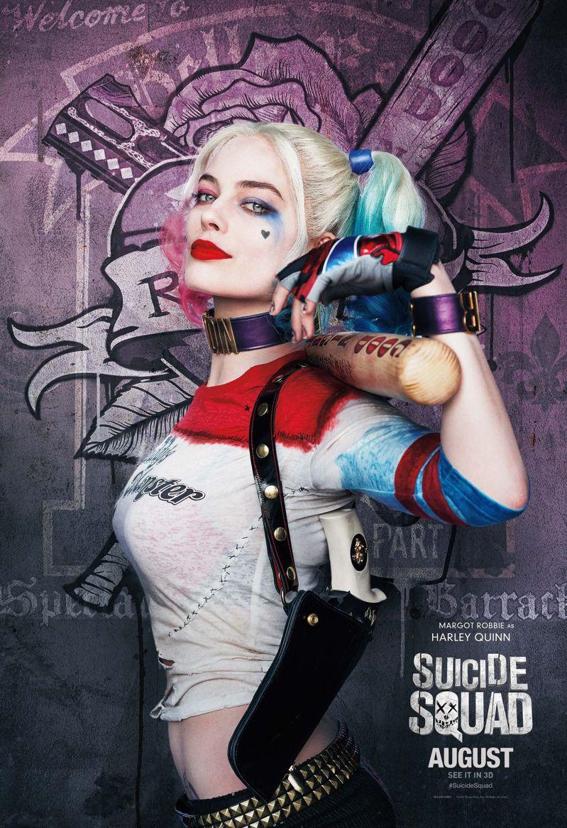 受到電影《自殺突擊隊》的影響,「小丑女」哈莉奎茵(瑪格羅比飾)榮登2018年Po...