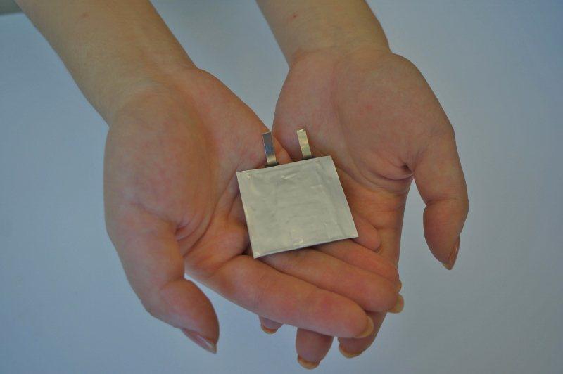海柏斯的熱電池,效率高、成本低,而且只有方塊酥餅乾大小。 海柏斯/提供