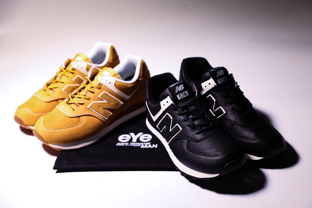 Junya Watanabe Man x New Balance 574休閒鞋,...