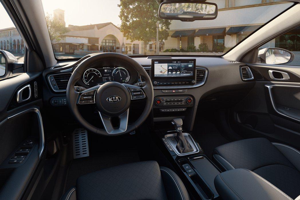Kia Ceed Sportswagon PHEV 內裝。 摘自Kia