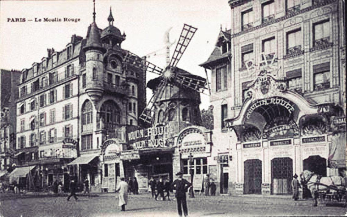 紅磨坊是在1889年10月6日於法國巴黎的皮加勒(Pigalle)開業,起初是當...