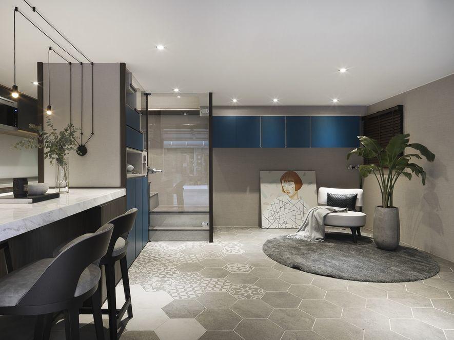 (圖)川十設計 住宅作品《慵藍午後》