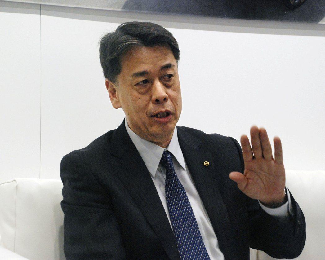 日產新任執行長內田誠。 路透