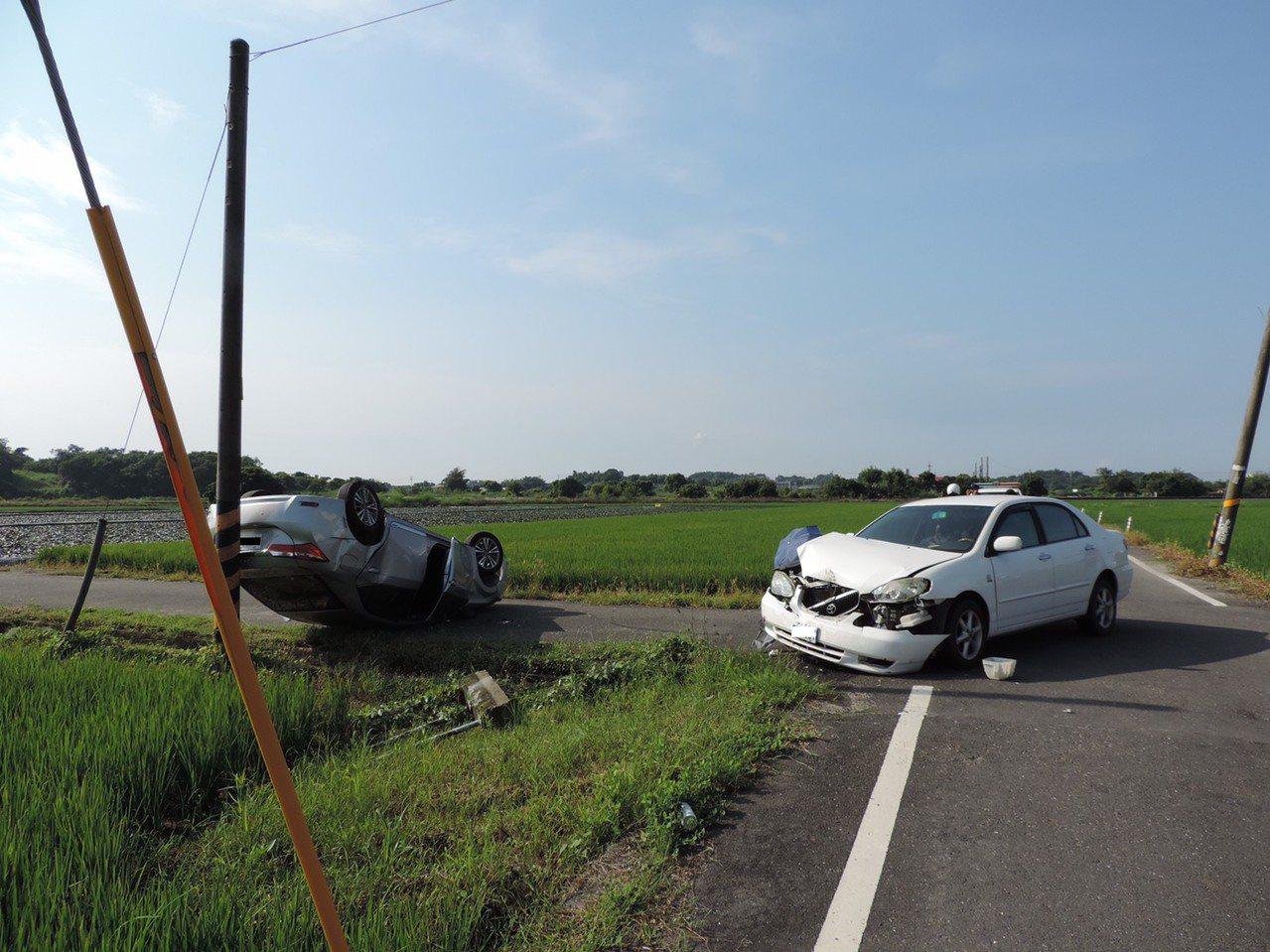 麻豆警分局公布9月份轄內易車禍案件統計。記者吳淑玲/翻攝