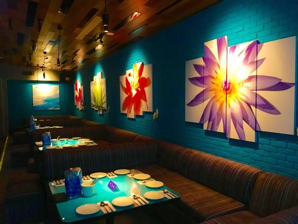 屋頂棕櫚餐廳擁有海島渡假般的輕鬆氛圍。圖/擷取自Roof.island 屋頂.棕...