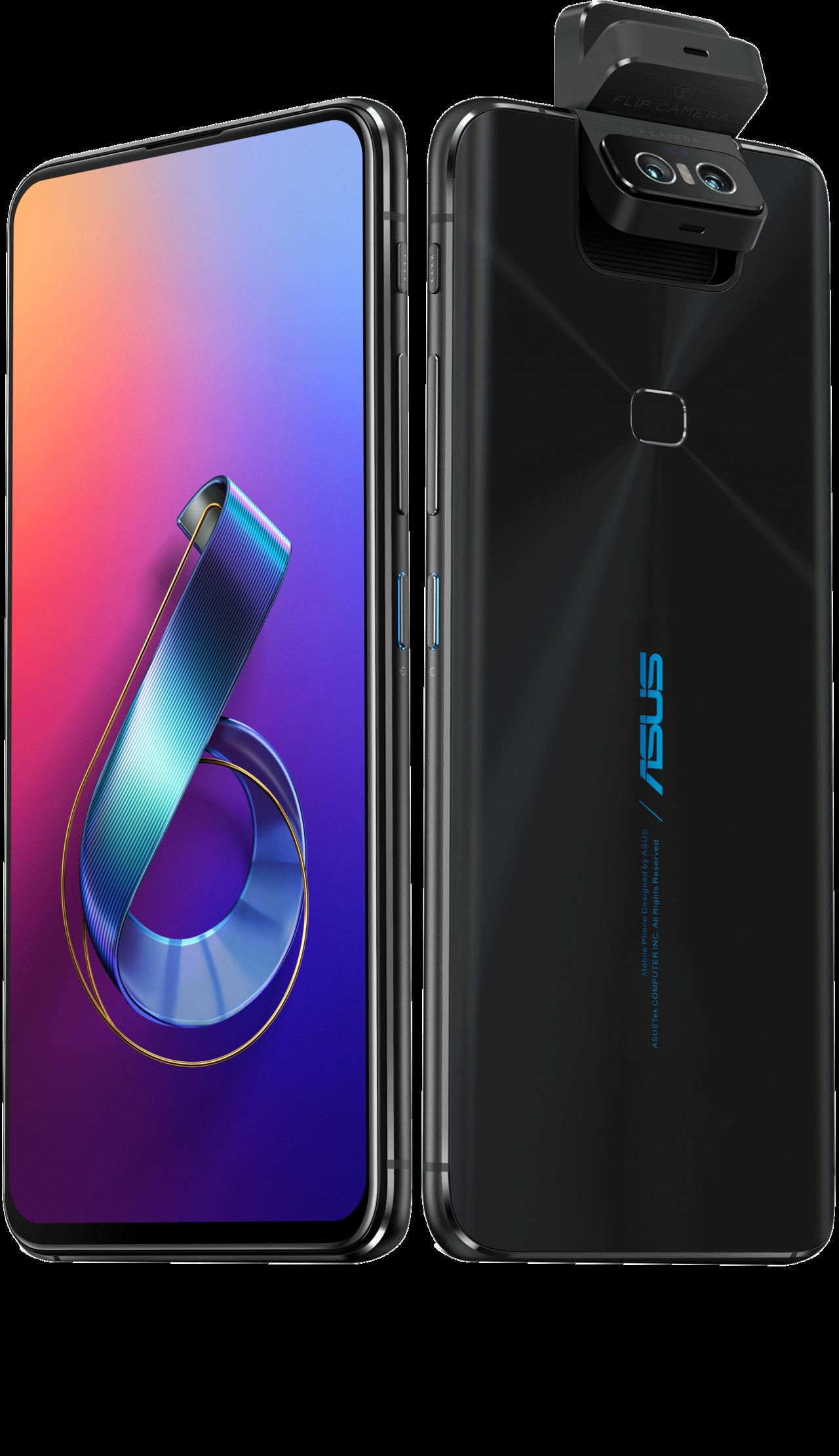 華碩ZenFone 6迷霧黑搶先在台上市。 圖/華碩提供