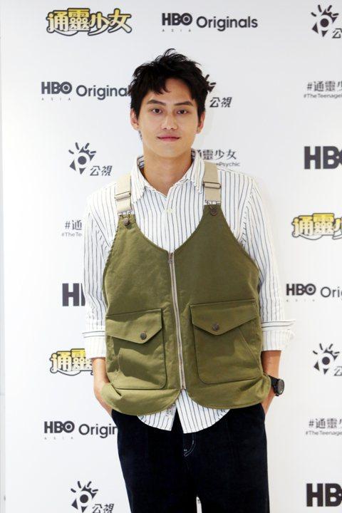 「通靈少女」第二季男主角范少勳今天出席聯訪記者會,暢談拍戲甘苦。