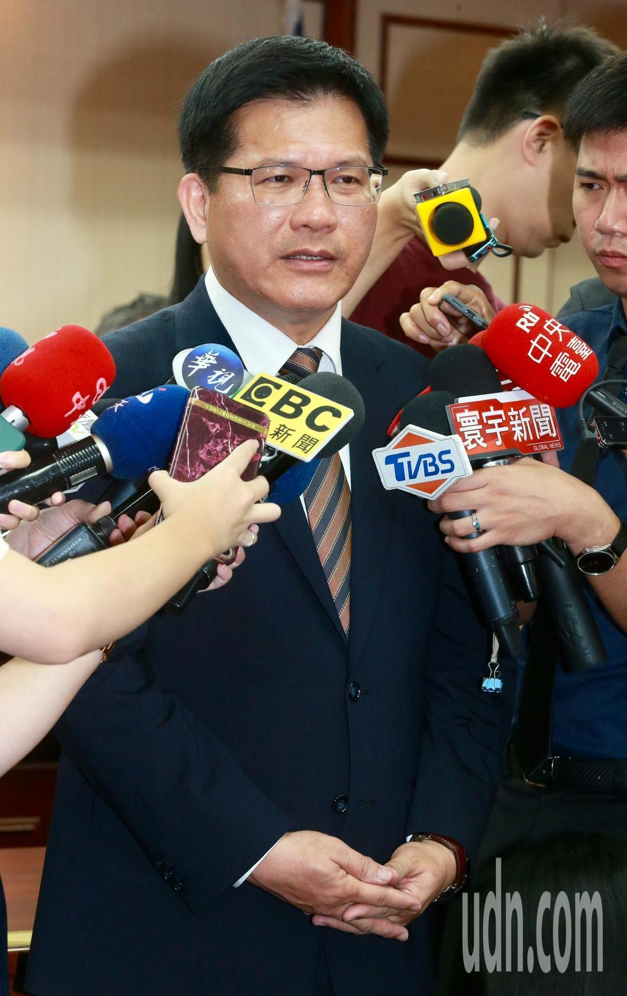 交通部長林佳龍。記者黃義書/攝影