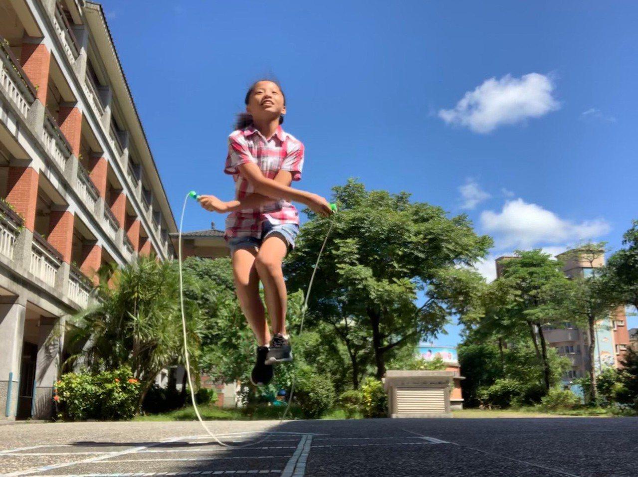 基隆女孩「跳」起來獲奬,她挑戰極限性別不限。圖/基隆市府提供