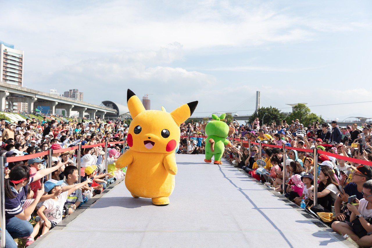 新北寶可夢活動估算帶動20億效益,且行銷台灣和新北。圖/新北觀旅局提供