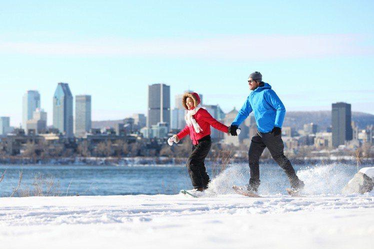 冬季的加拿大可一次體驗多種精彩雪地活動。圖/加拿大航空提供