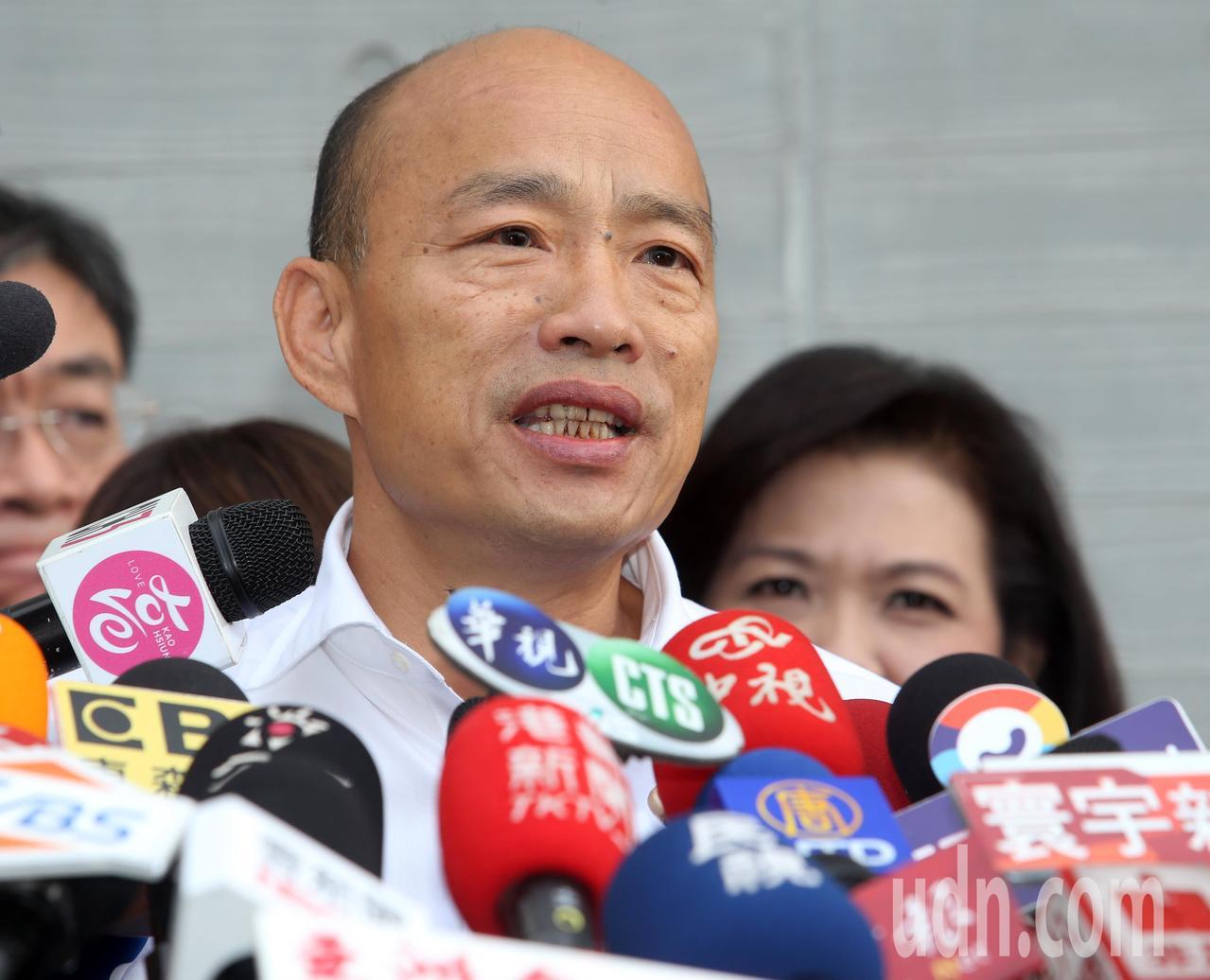 高雄市府首度舉辦「體感嘉年華」活動,韓國瑜親自出席。記者劉學聖/攝影