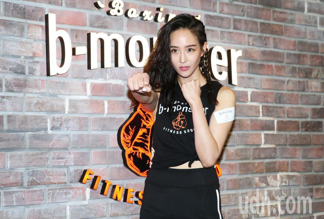 b-monster邀請張鈞甯擔任品牌代言人。記者徐兆玄/攝影