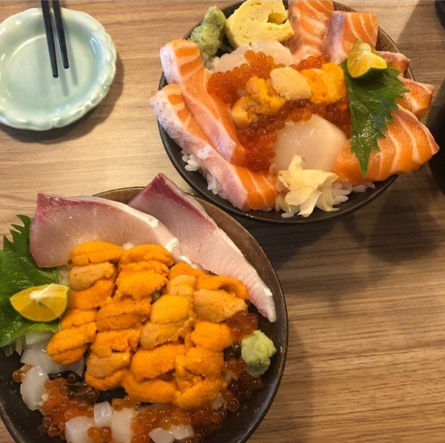 美食部落客分享「千幸壽司」的用料,相當澎湃。IG @syin3318 提供