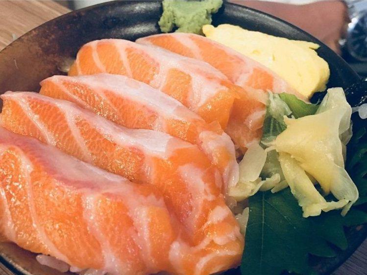 網友分享「千幸壽司」的生魚片厚度很夠。IG @lynn29582003 提供