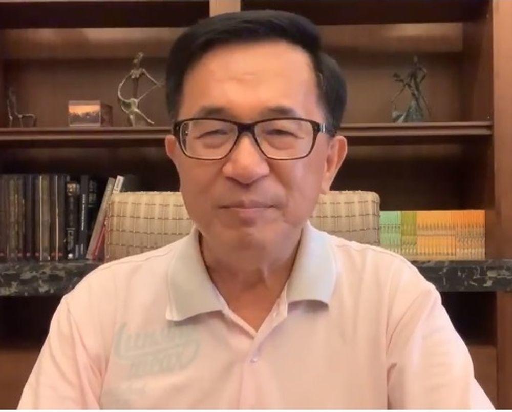 前總統陳水扁在臉書貼文提出兩問題,要親民黨主席宋楚瑜如要5度參選總統,先回答此問...