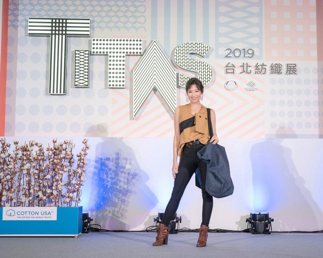 袁詠琳以美國棉永續環保大使身分,分享愛地球的10個撇步。圖/杰威爾提供