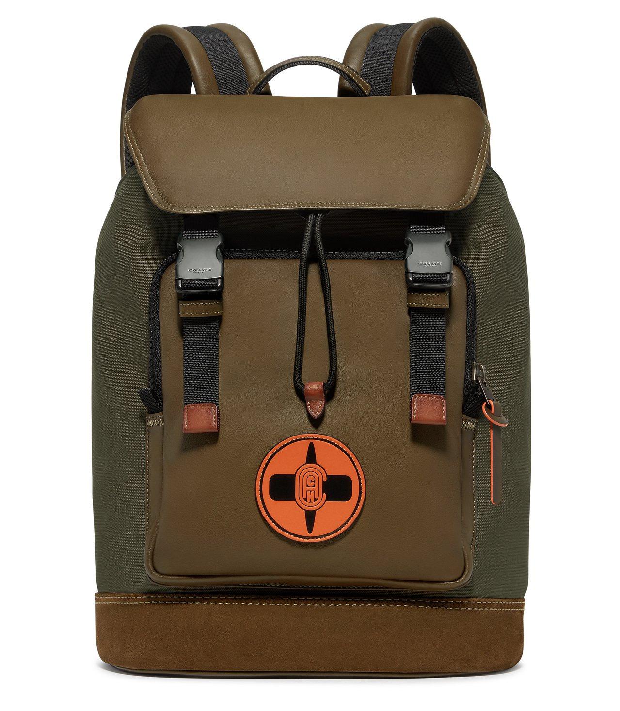COACH X MBJ後背包,售價27,800元。圖/COACH提供