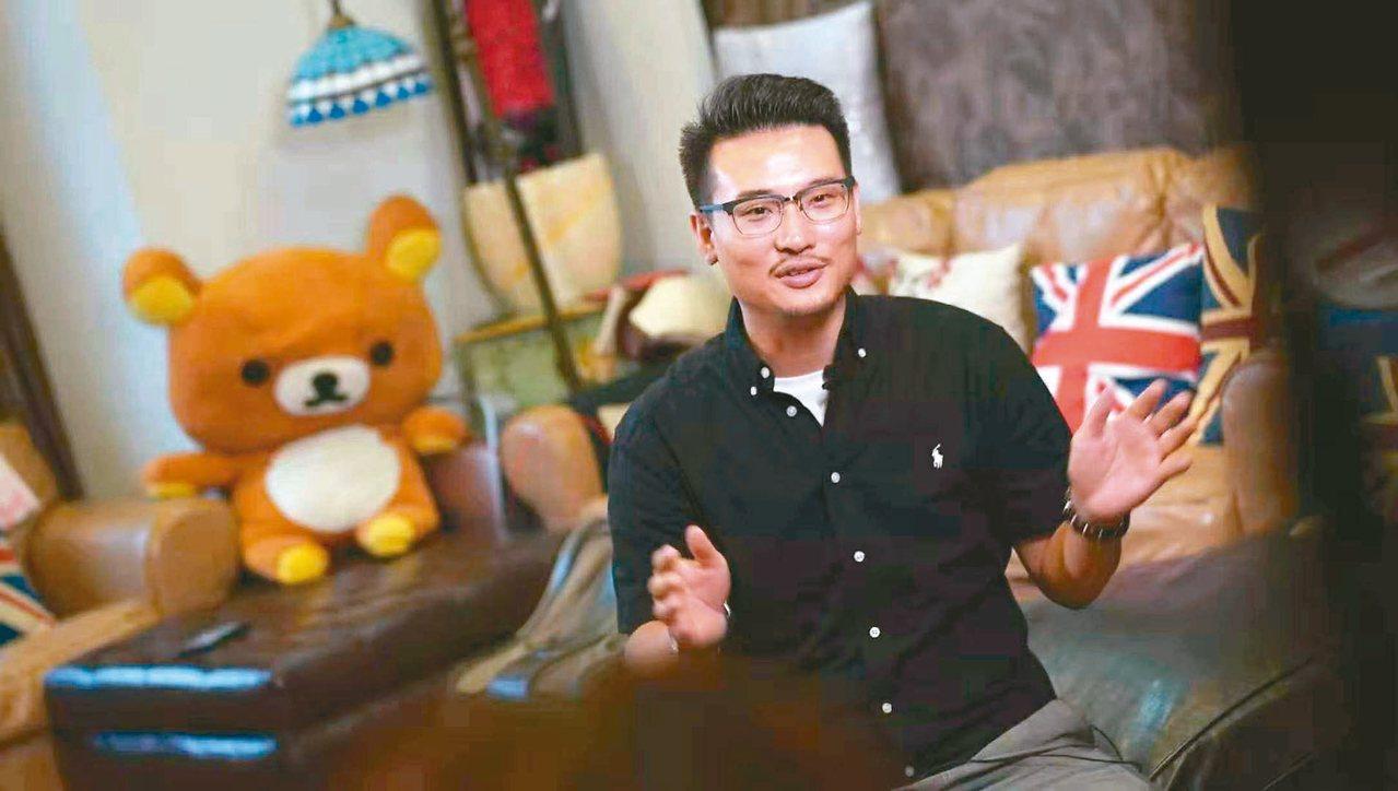 自台灣的林柏偉,任職於一家東莞的香港企業。 圖/本報東莞傳真