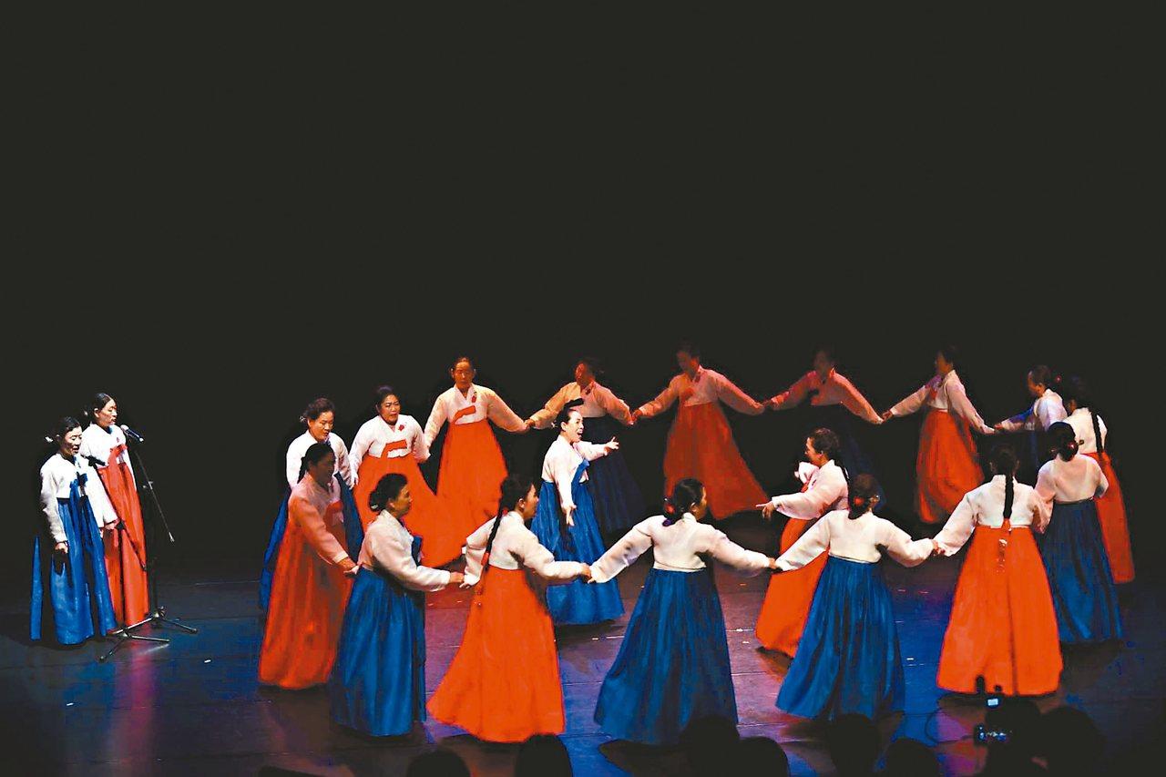 2019亞太傳統藝術節邀請韓國羌羌水月來在台演出。 圖/國立傳統藝術中心提供