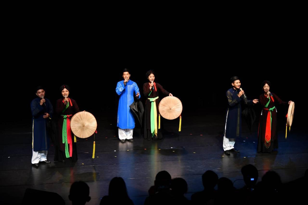 2019亞太傳統藝術節邀請越南官賀民歌在台首演。圖/國立傳統藝術中心提供