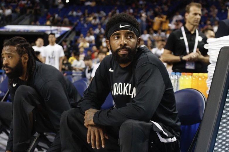 厄文受傷不能出賽。 擷圖自NBA官方推特