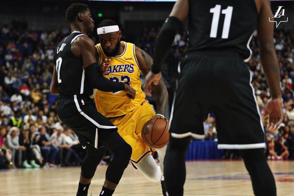 NBA/詹姆斯上海賽獲MVP讚聲 籃網傷雙衛仍贏球