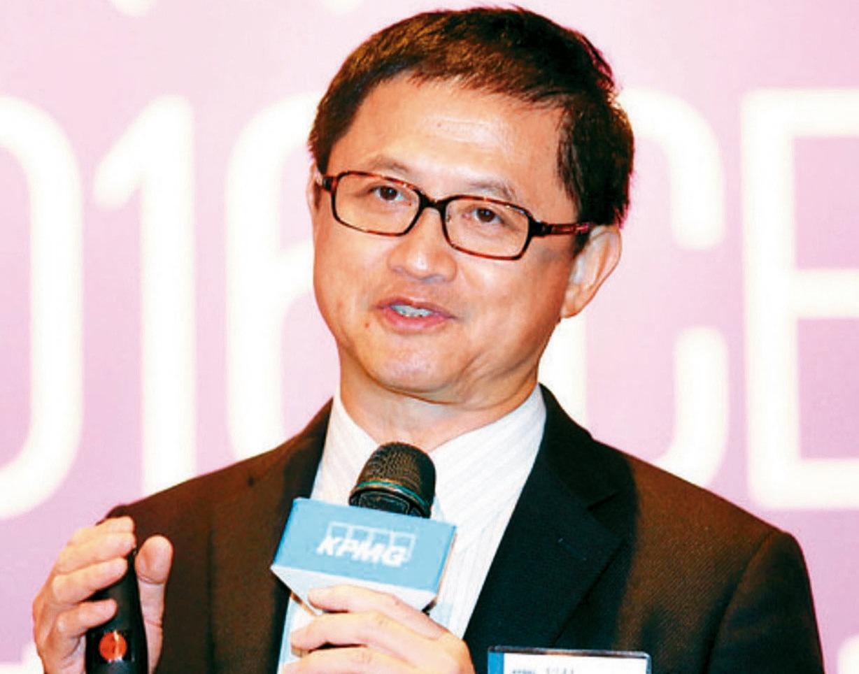 台北市電腦公會理事長童子賢。 聯合報系資料照