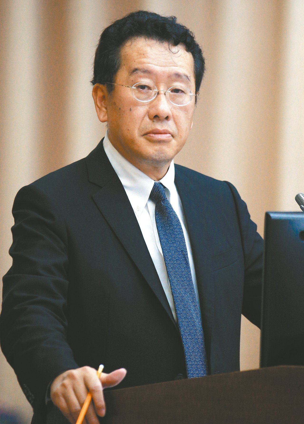 金管會主委顧立雄 記者陳正興/攝影