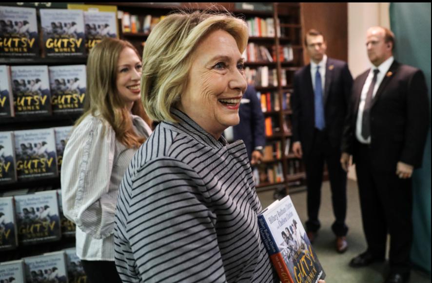 民主黨前總統候選人喜萊莉.柯林頓(Hillary Clinton)。 路透