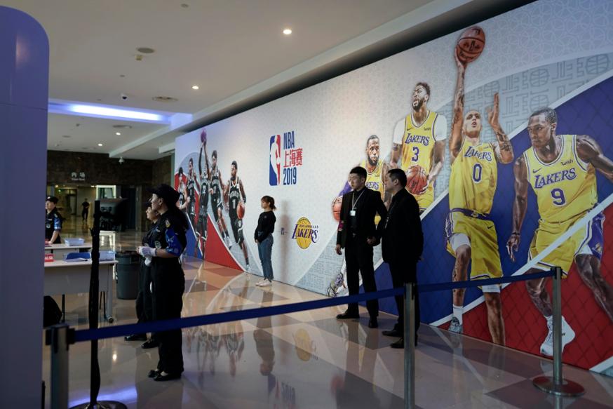 NBA中國賽遭抵制照看 球迷:喜愛不受風波影響