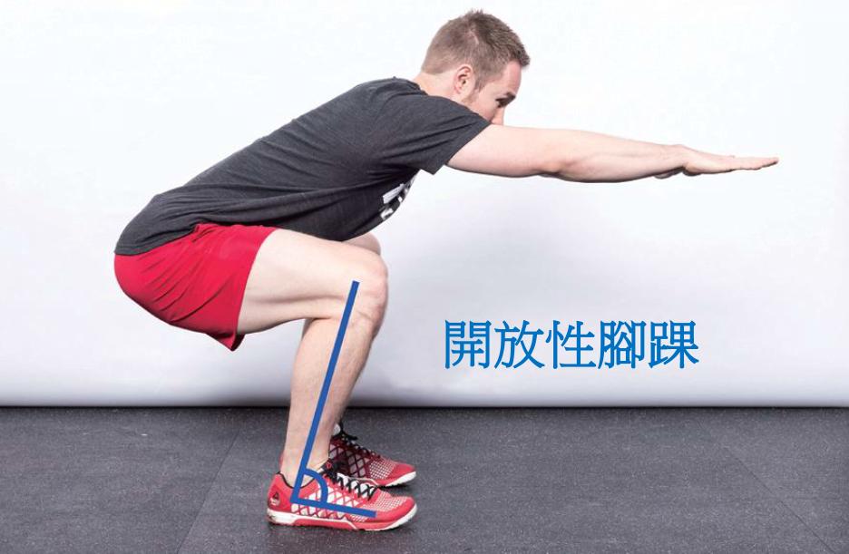 ▲ 僵硬的腳踝通常是深蹲問題背後的元凶。 圖/摘自《強肌深蹲:美國國家級運動員指...