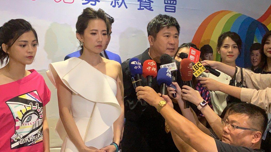 謝忻近日遭爆將與徐乃麟搭檔主持新節目,還要跨足戲劇,而這也被解讀成「切割胡瓜」。