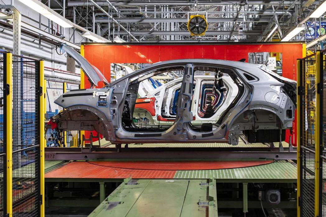 全新Ford Puma現正量產中。 摘自Ford