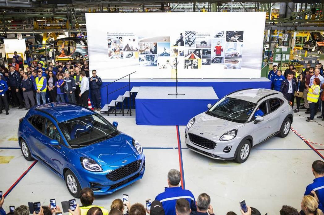首批量產Ford Puma在日前已正式下線。 摘自Ford